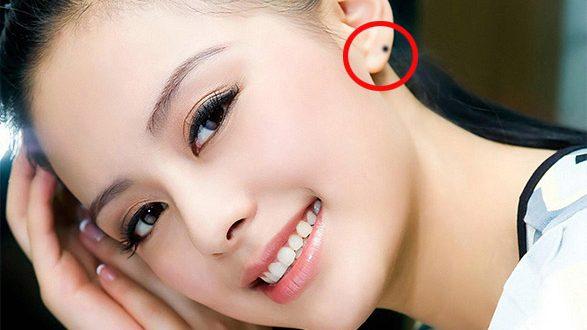 Những bí ẩn đằng sau nốt ruồi ở tai phụ nữ